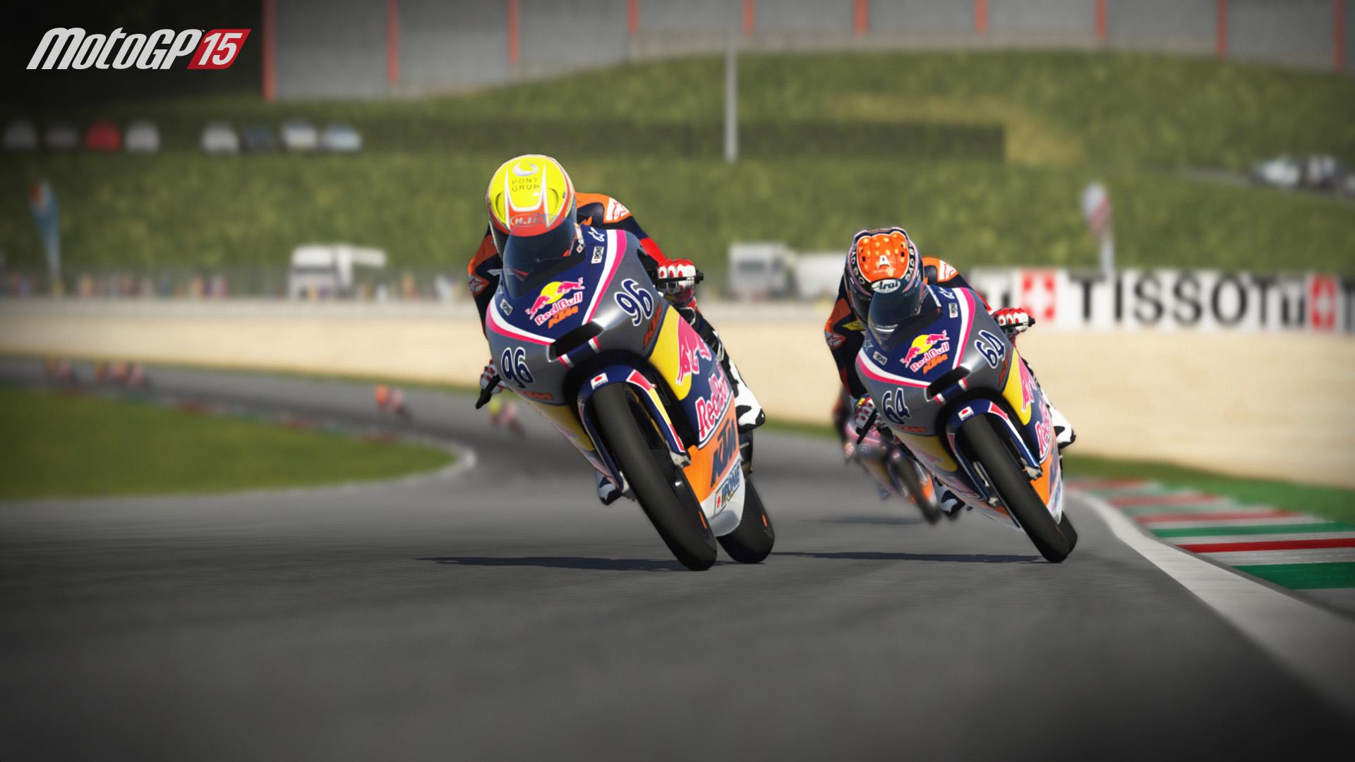 MotoGP15 Red Bull Rookies Cup screenshot