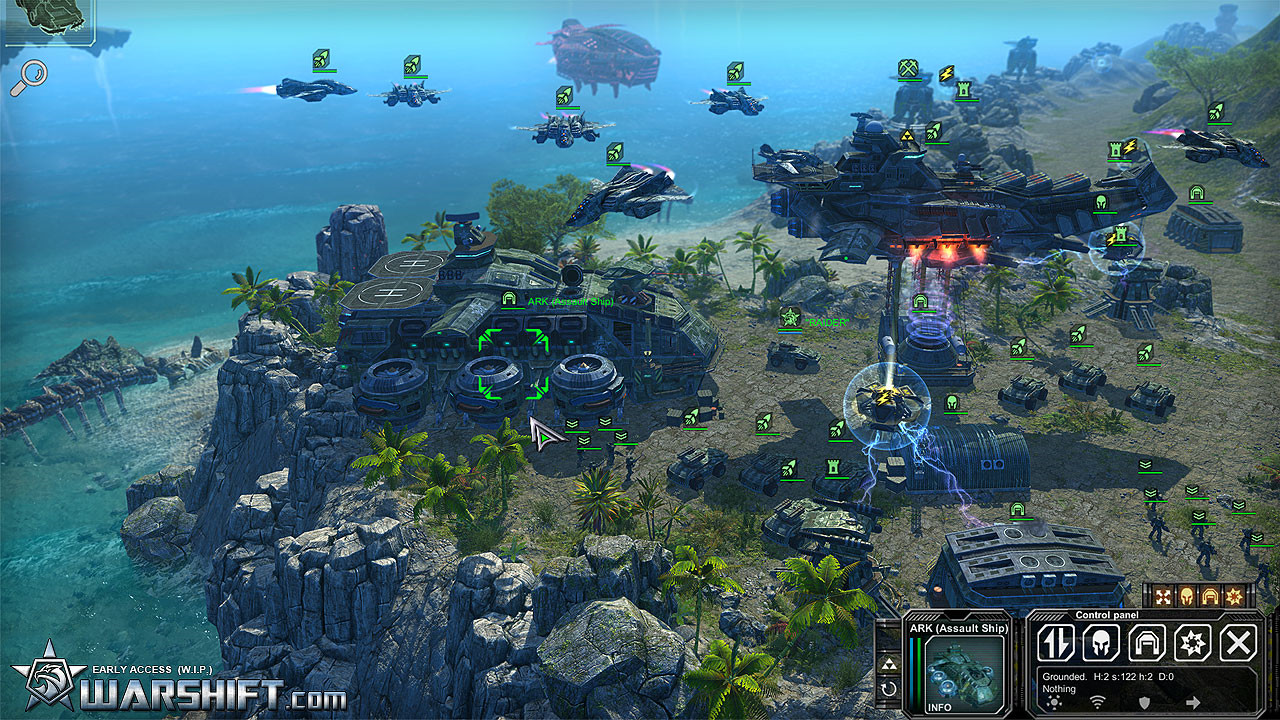 WARSHIFT Screenshot 1