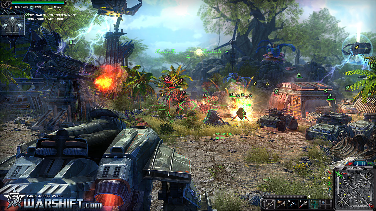 WARSHIFT Screenshot 2