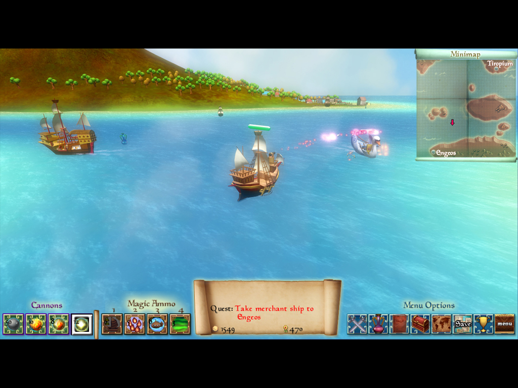 A Sirius Game screenshot