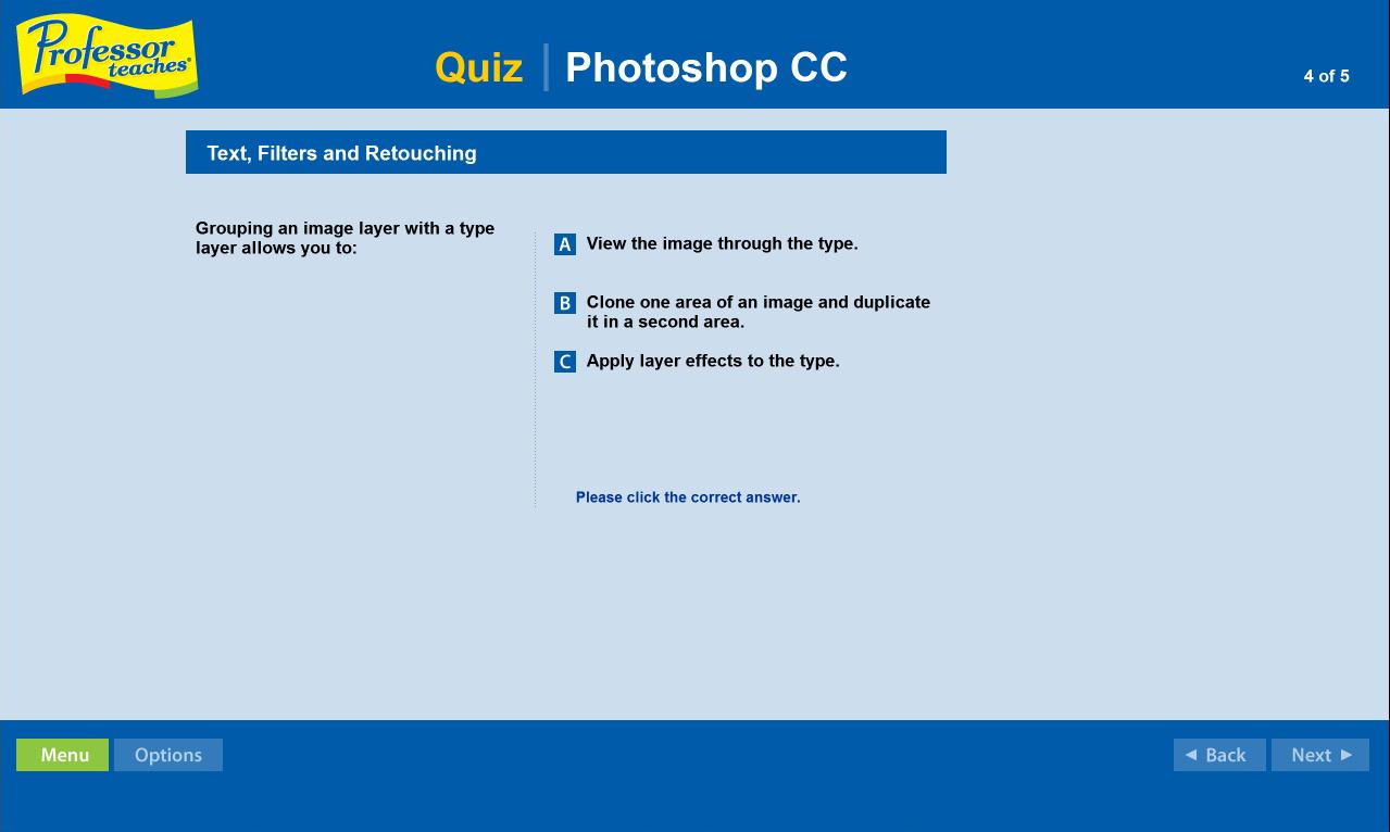 Professor Teaches Photoshop Creative Cloud screenshot