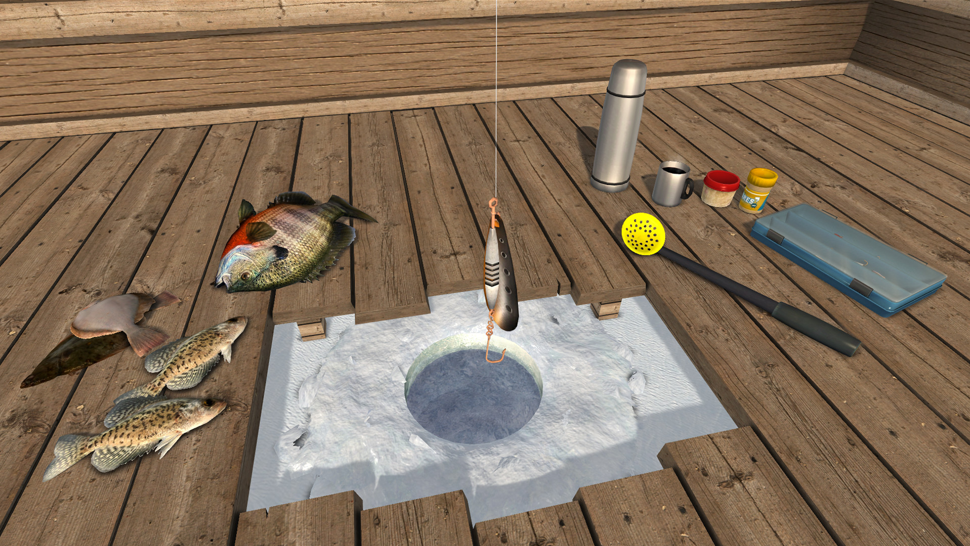Download ice lakes full pc game for Ice fishing games free