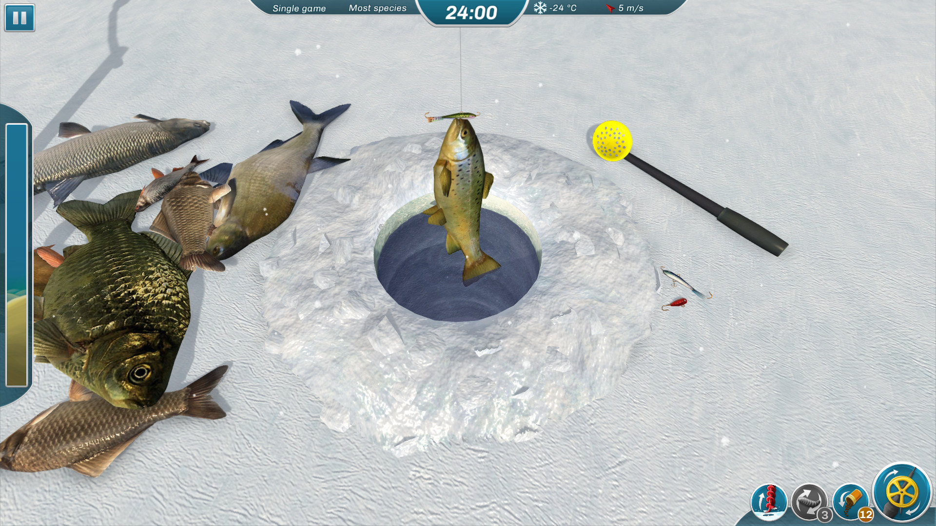Ice lakes failmid for Ice fishing games free