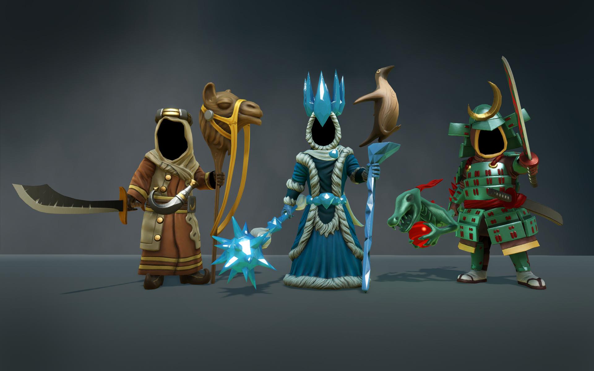 Magicka 2: Three Cardinals Robe Pack screenshot