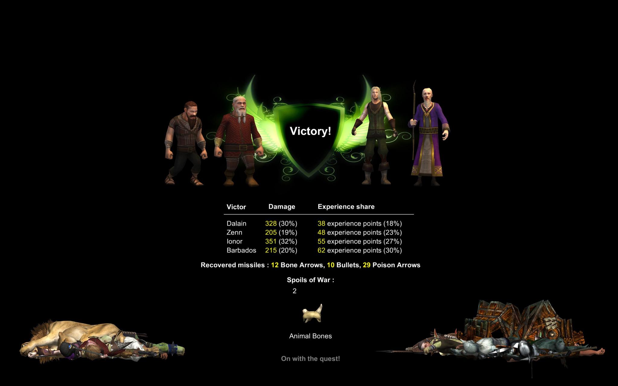 The Dwarf Run screenshot