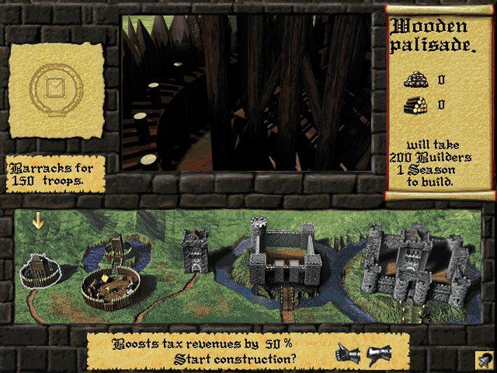 Lords of the Realm II screenshot