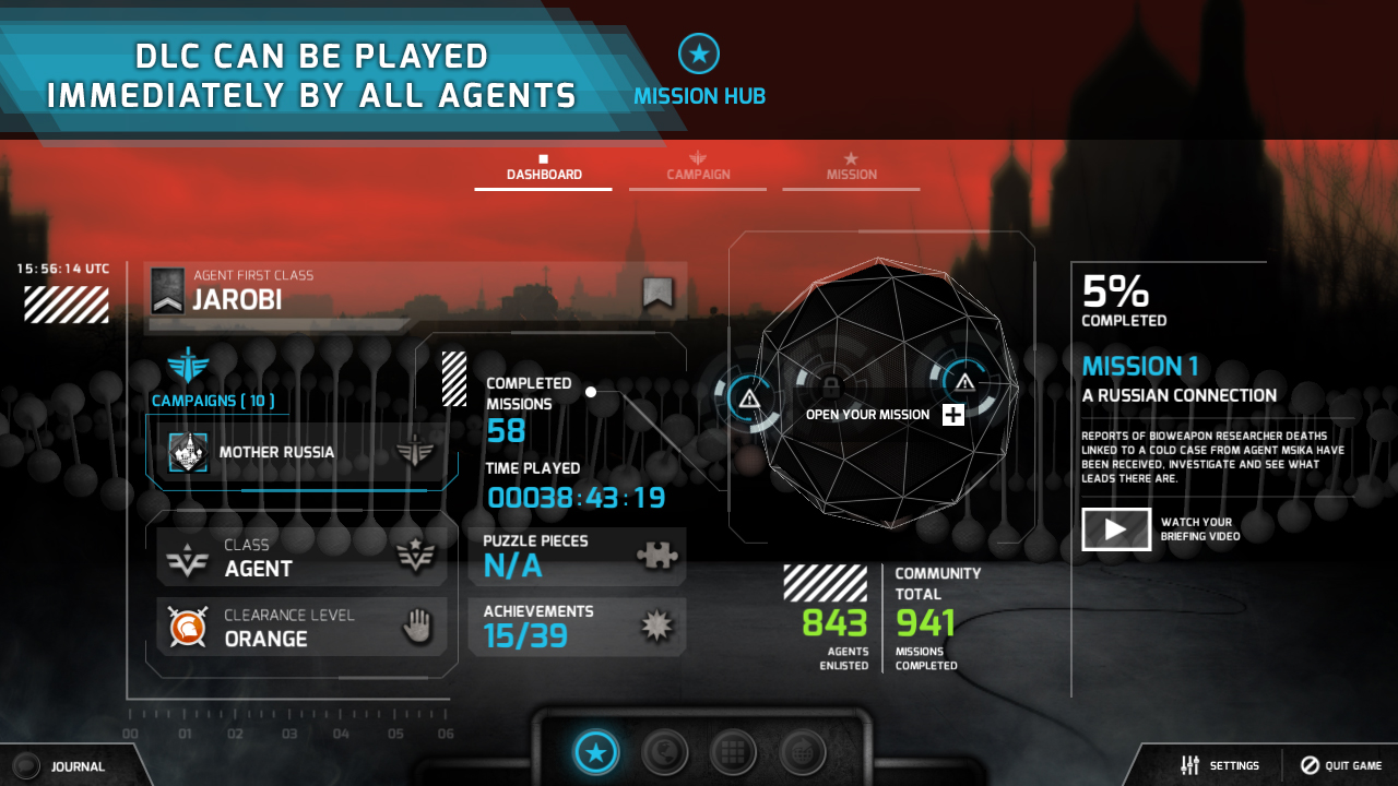 The Black Watchmen - Mother Russia screenshot