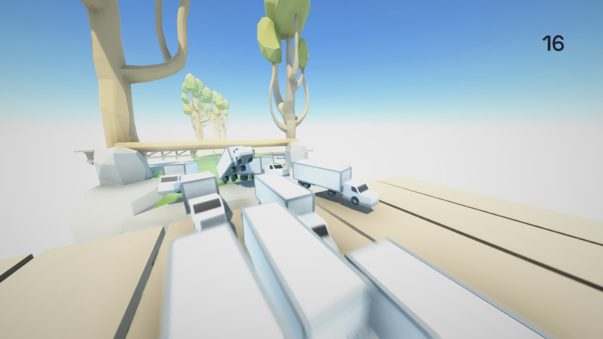 Clustertruck Screenshot 1