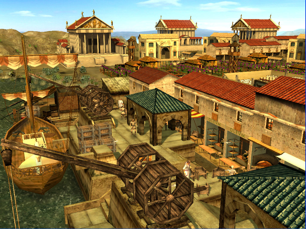 CivCity: Rome screenshot