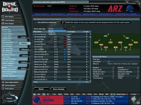 Bowl Bound College Football - Game Screenshot