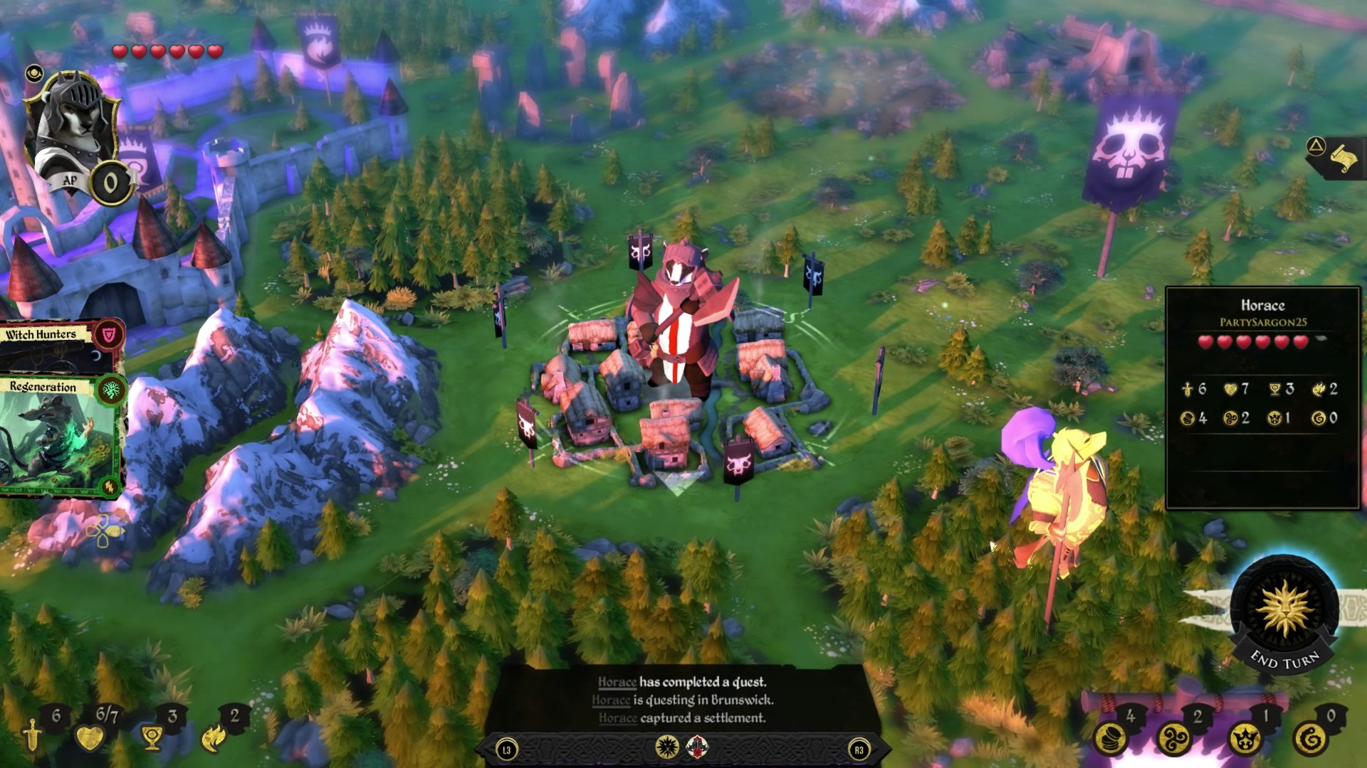 Armello - The Bandit Clan screenshot