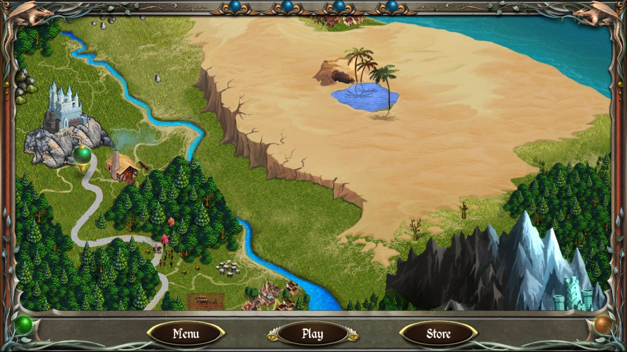 Legends of Solitaire: Curse of the Dragons screenshot