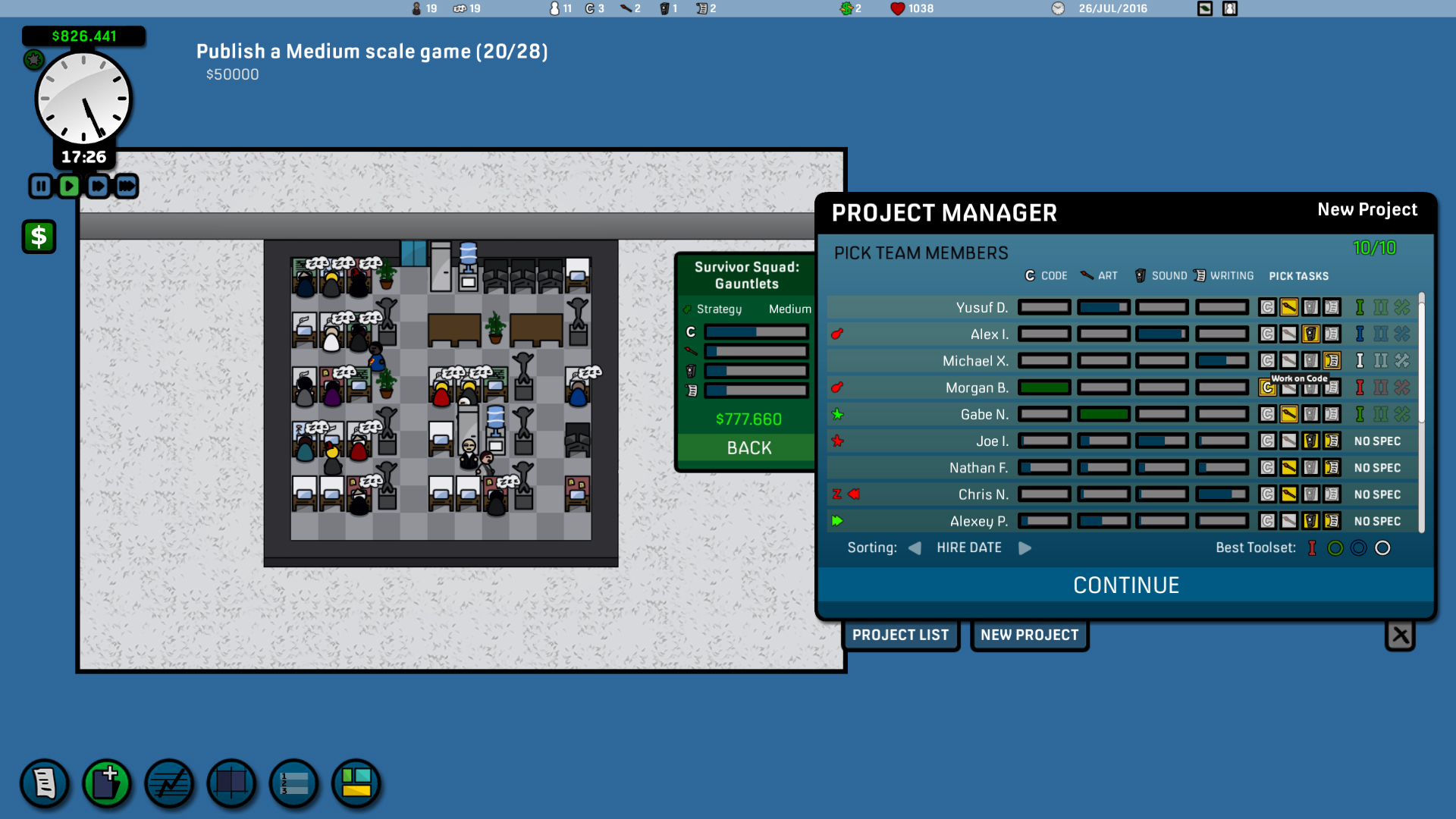 Game Corp DX screenshot
