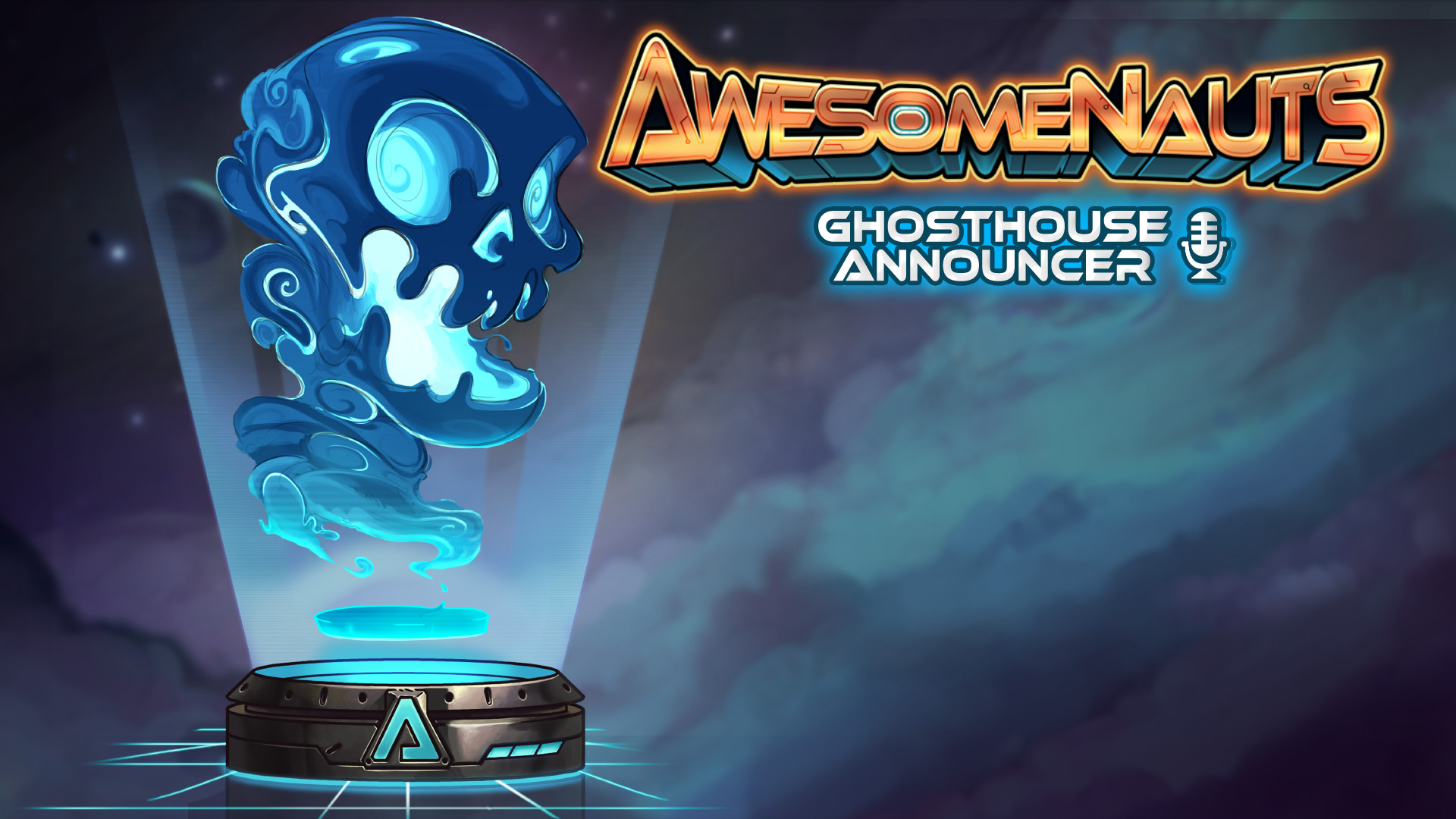 Awesomenauts - Ghosthouse Announcer screenshot