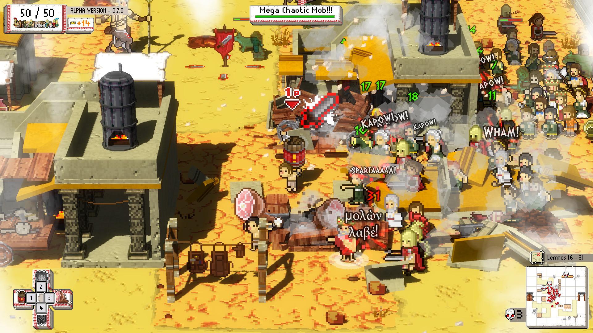 Okhlos: Omega screenshot