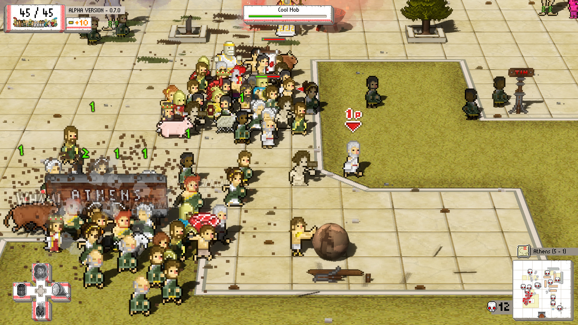 Okhlos Screenshot 1