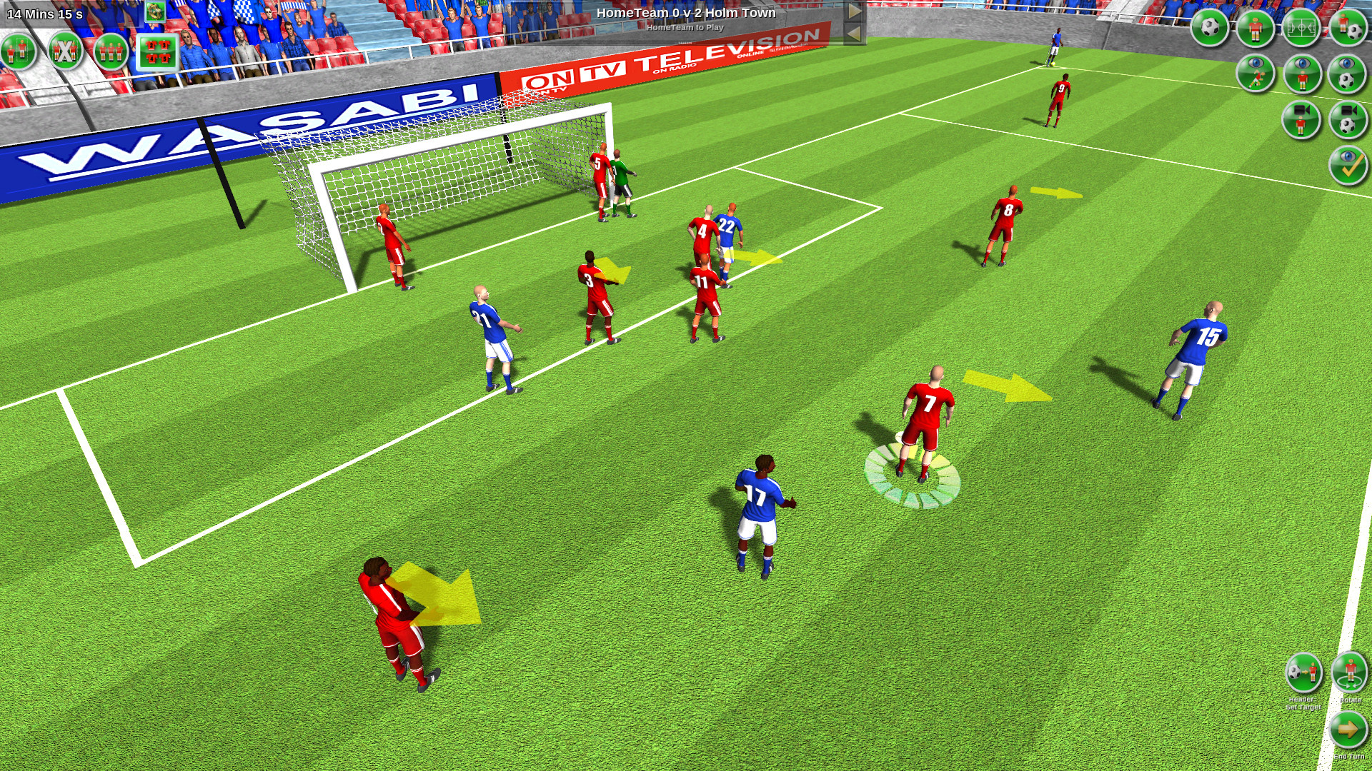 Tactical Soccer The New Season screenshot
