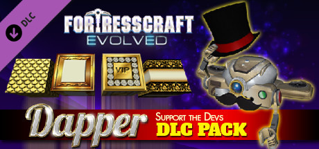 FortressCraft Evolved Dapper Indie Supporter's Pack