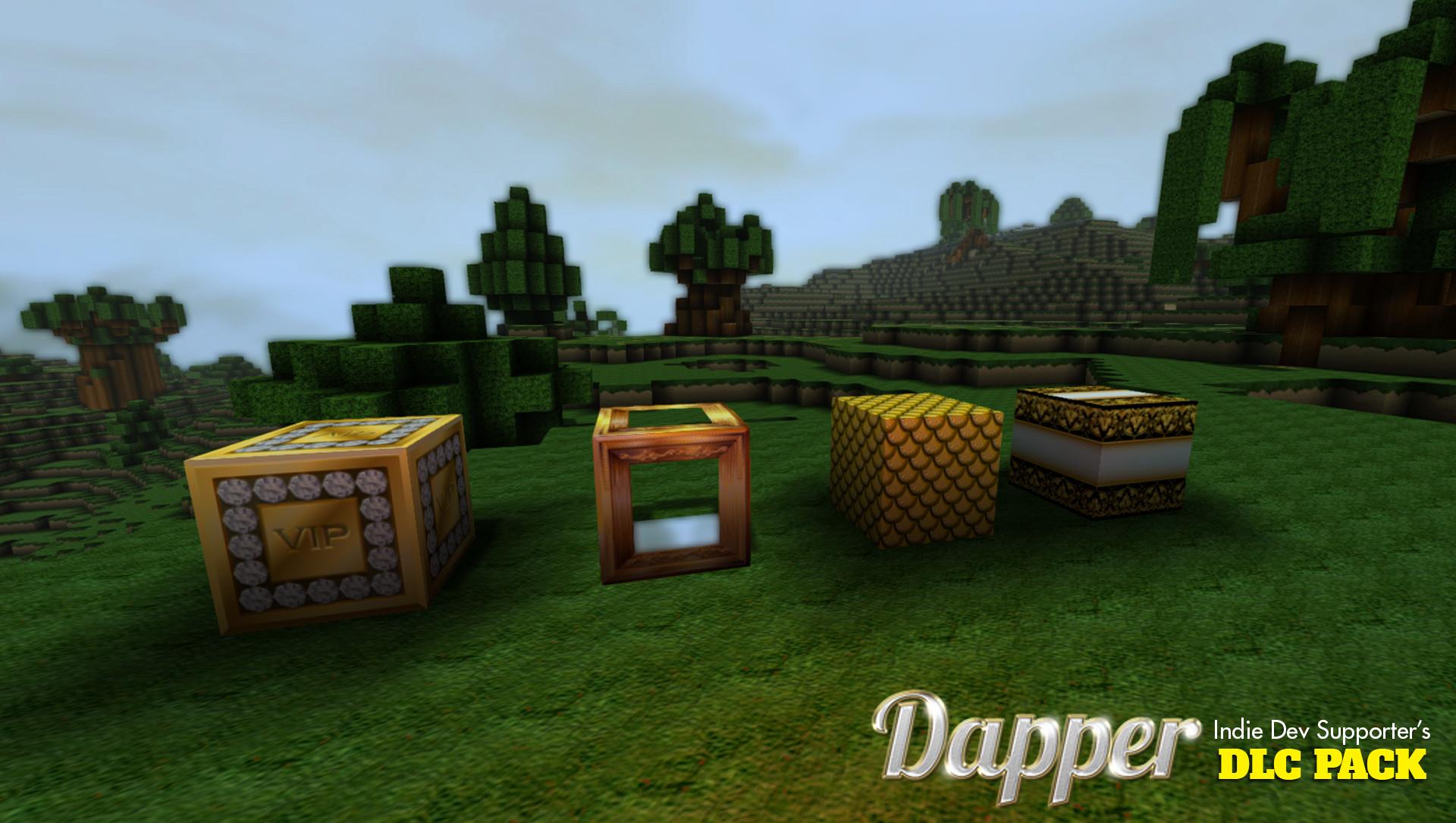 FortressCraft Evolved Dapper Indie Supporter's Pack screenshot