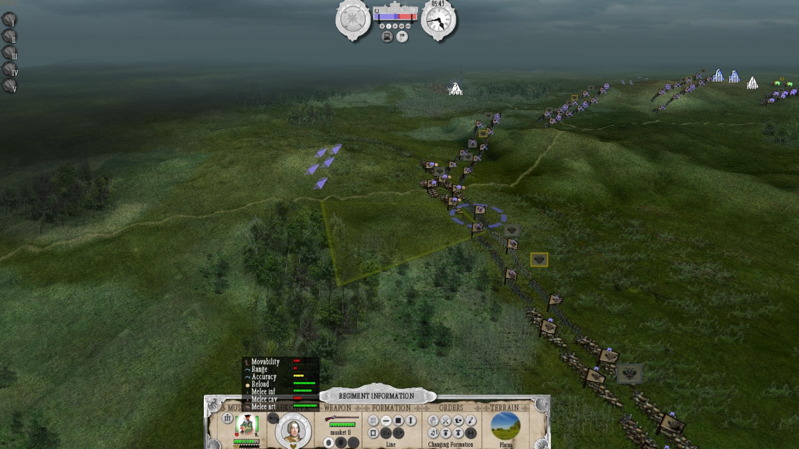 The Seven Years War (1756-1763) screenshot