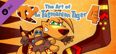 TY the Tasmanian Tiger 4 - The Art of