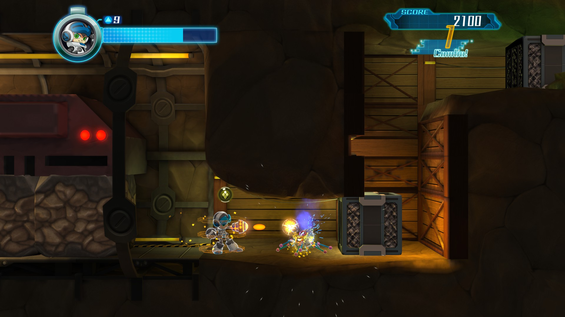 Mighty No. 9 - Ray Expansion screenshot