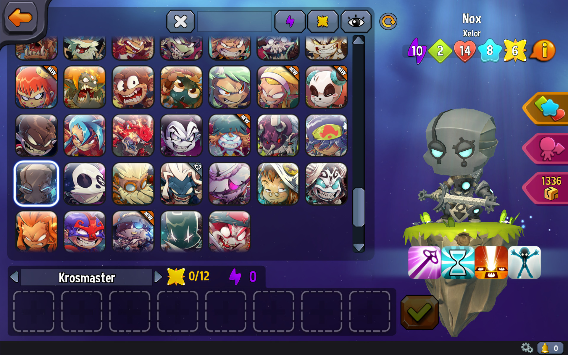Krosmaster - Elite Pack screenshot