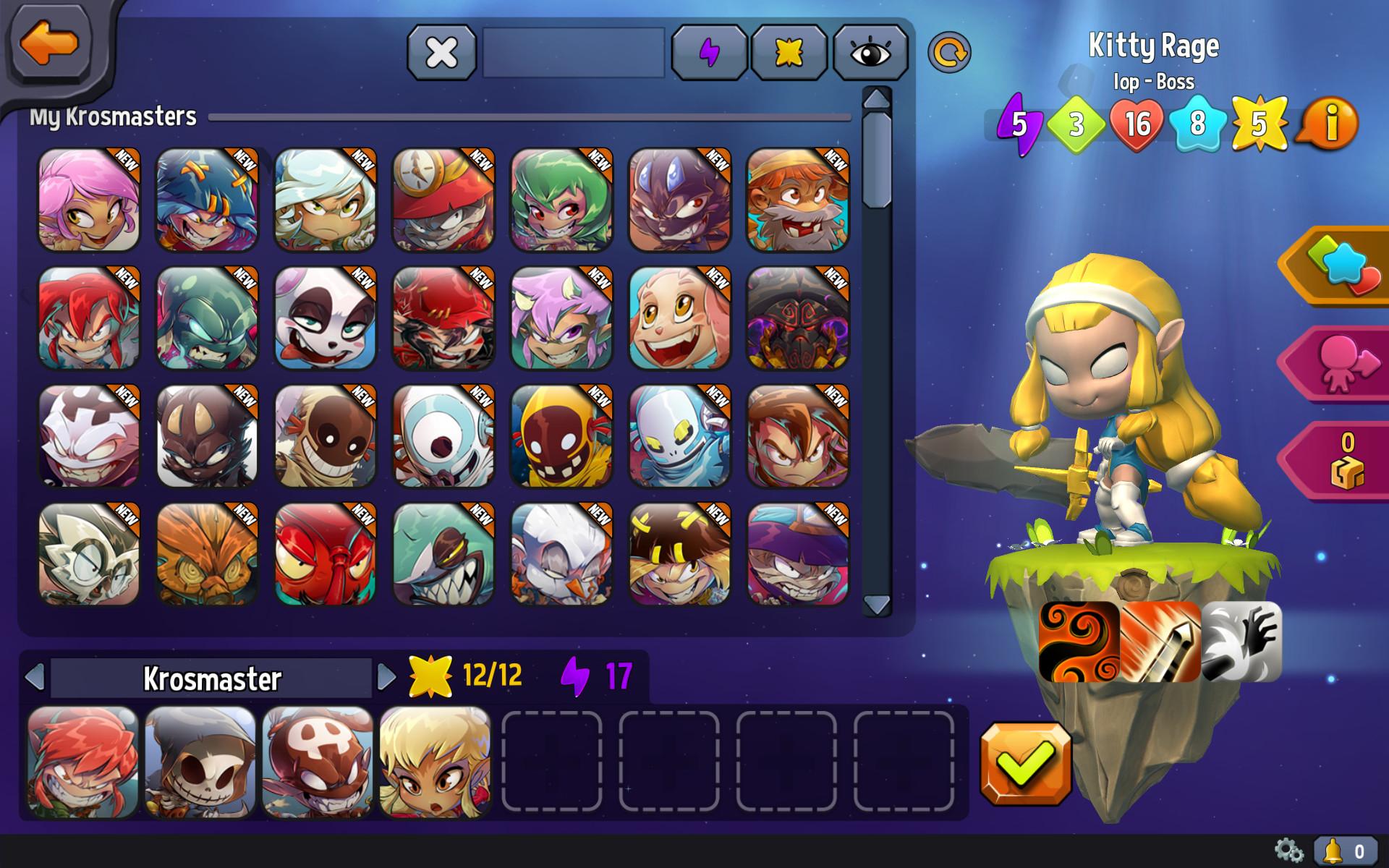 Krosmaster - Fire Element Pack screenshot