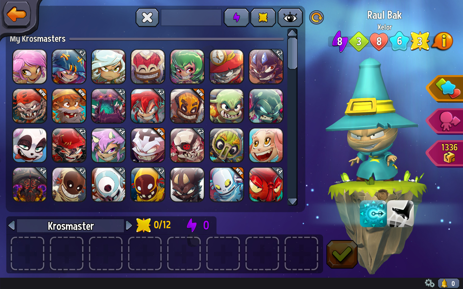 Krosmaster - Water Element Pack screenshot