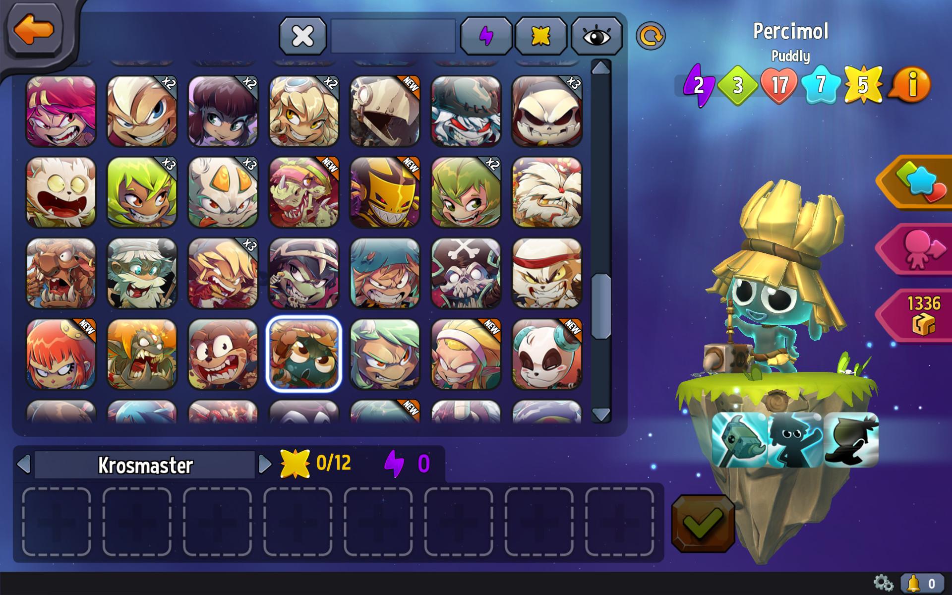 Krosmaster - Water Element Pack screenshot