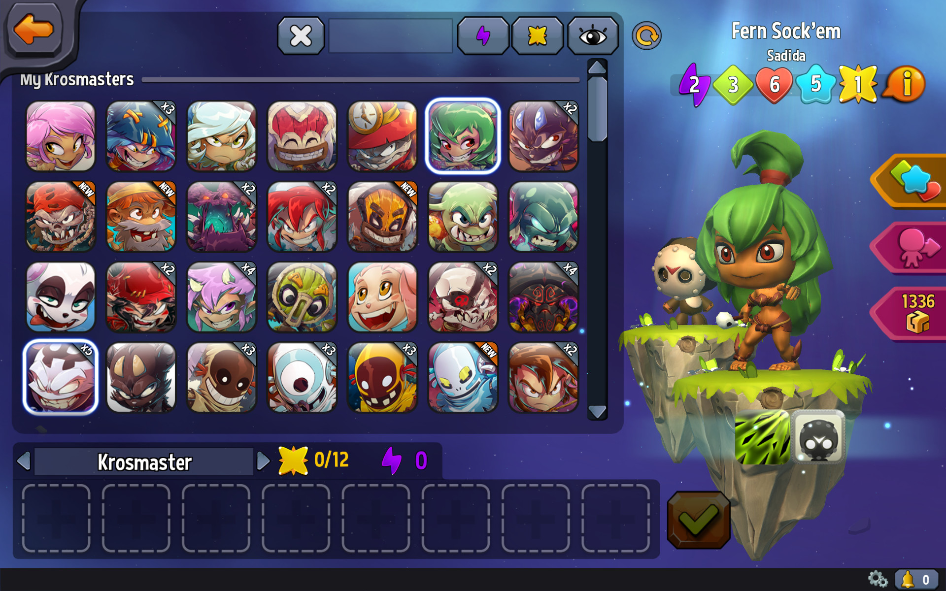 Krosmaster - Earth Element Pack screenshot