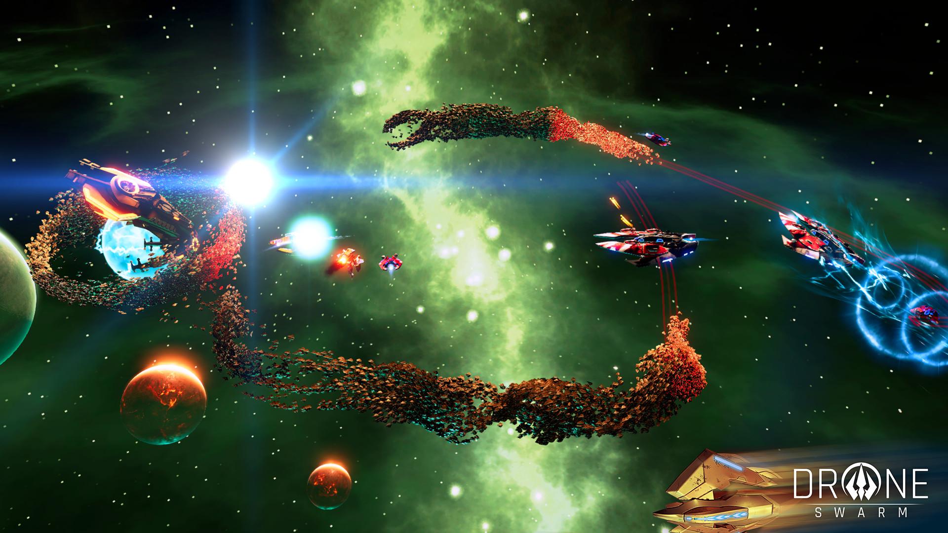 Drone Swarm screenshot