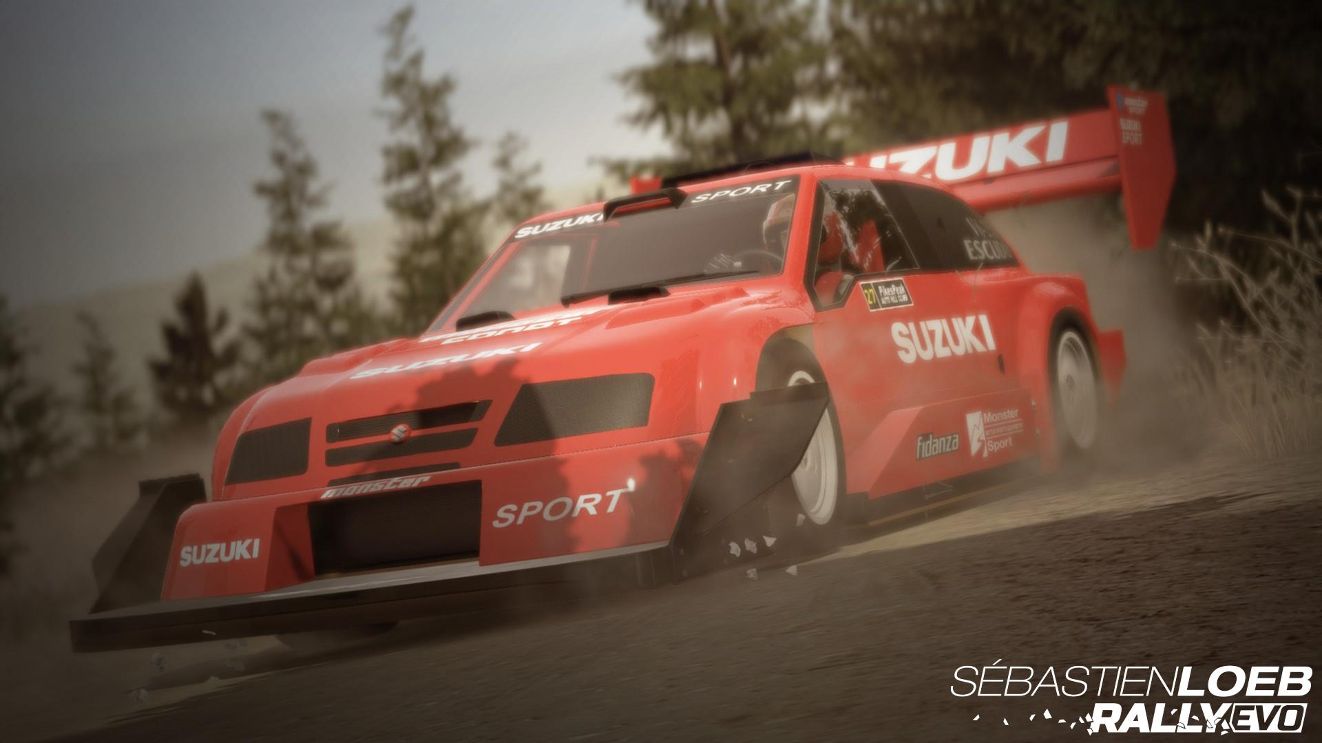 Sébastien Loeb Rally EVO - Pikes Peak Pack Suzuki Escudo PP screenshot