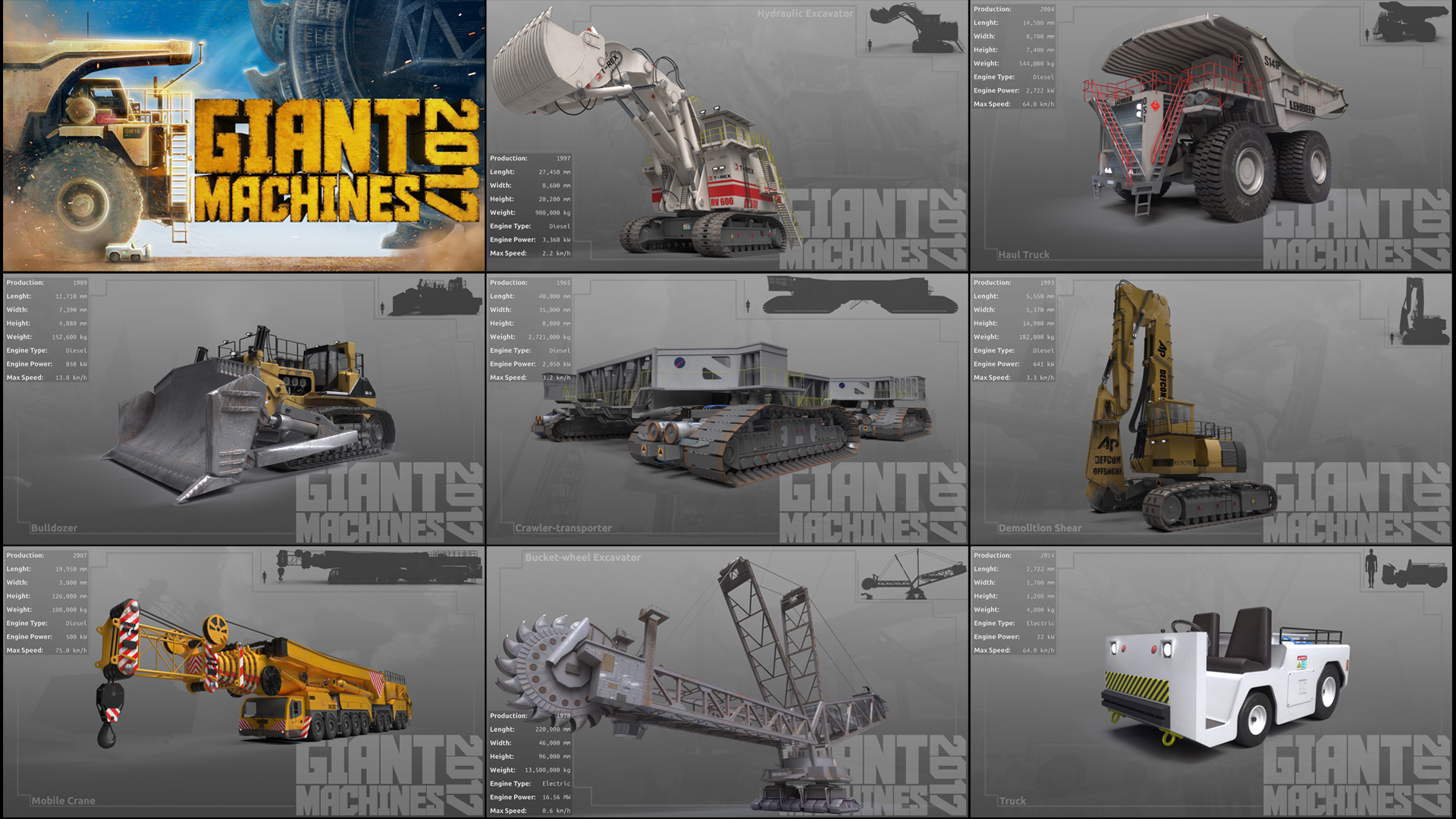 Giant Machines 2017 screenshot
