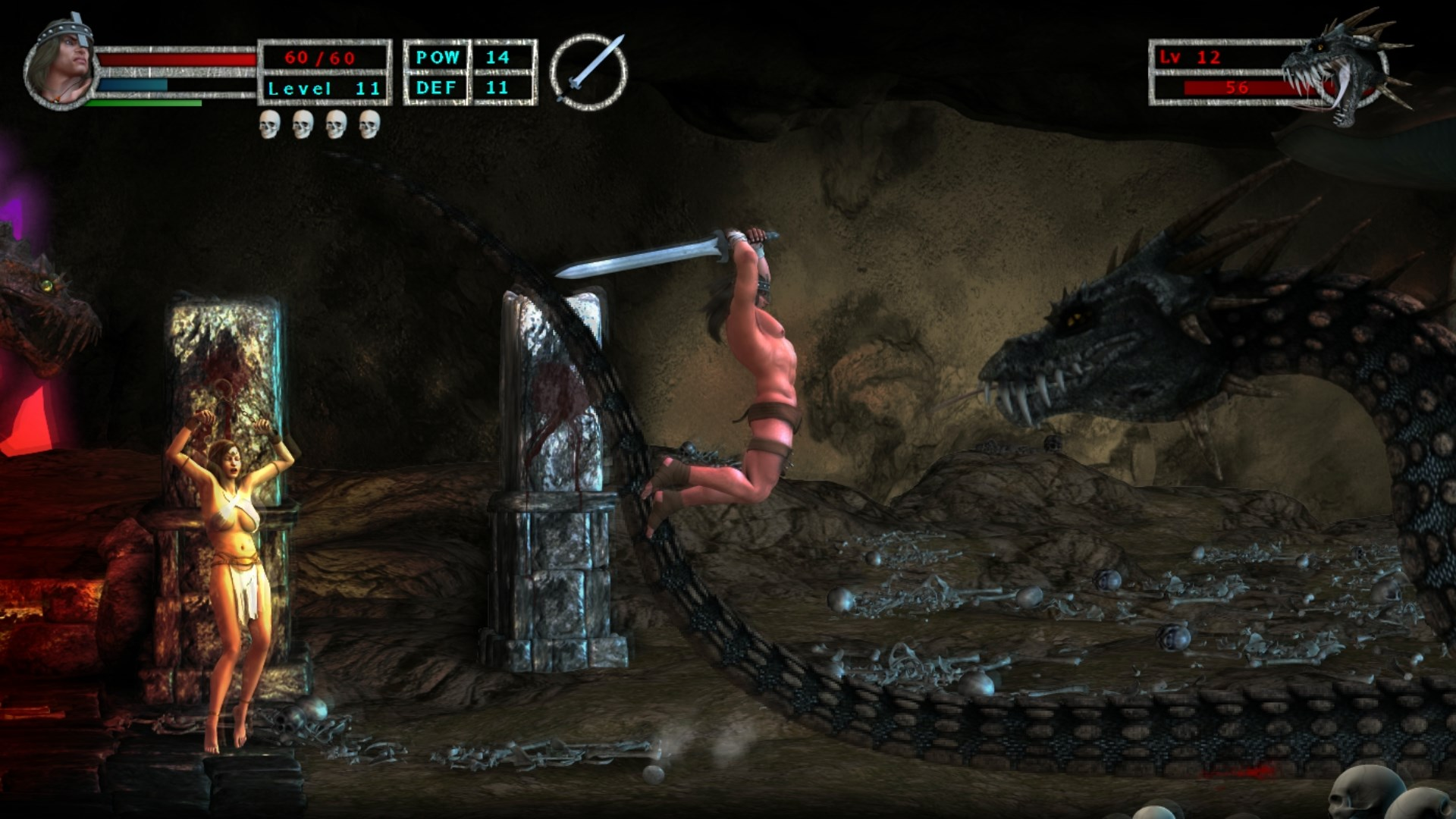 Age of Barbarian Extended Cut screenshot