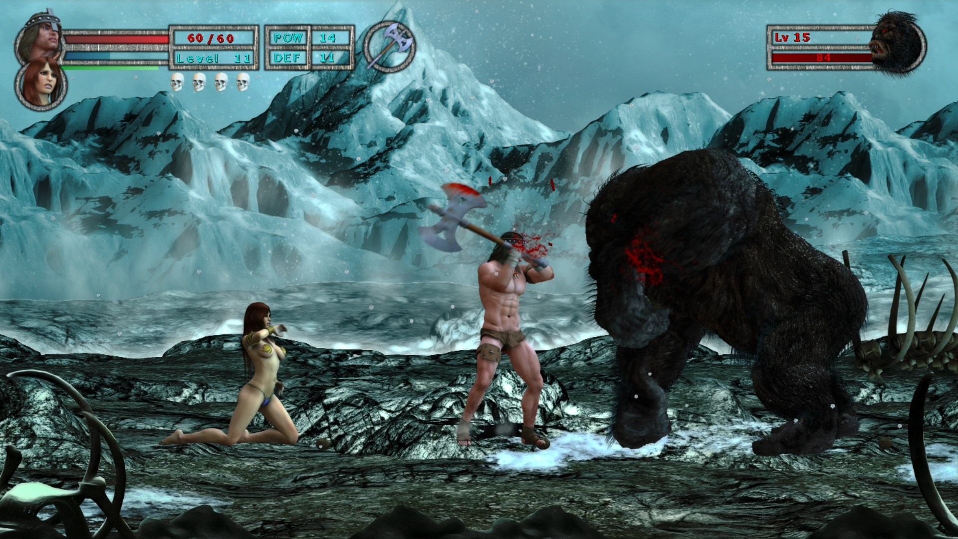 Age of Barbarian Extended Cut image 1