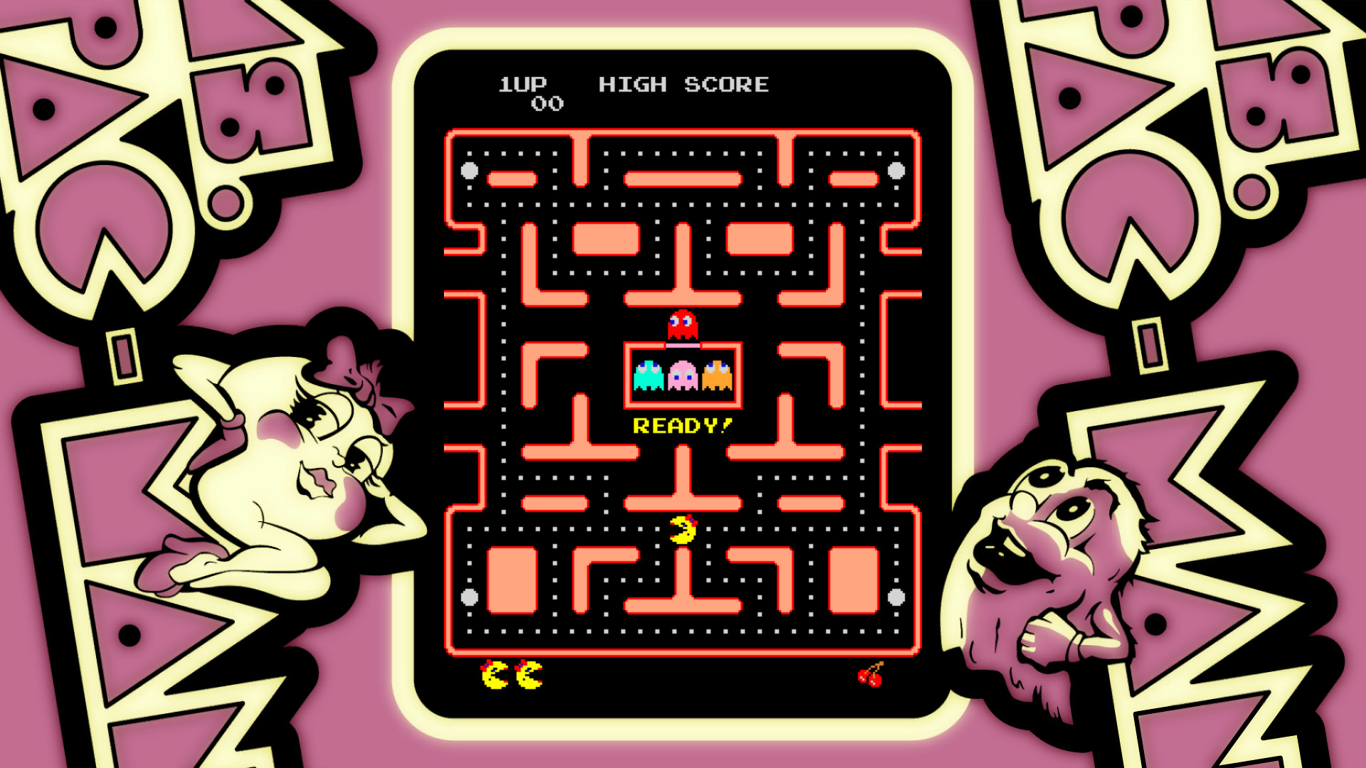 ARCADE GAME SERIES: Ms. PAC-MAN screenshot