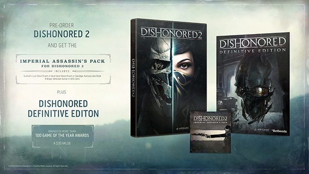 Dishonored 2 Will Need A 9GB Day One Patch