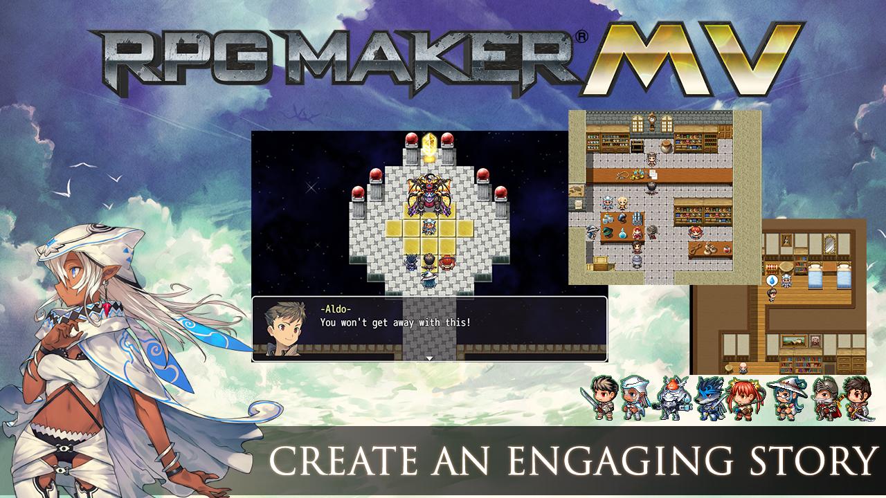 RPG Maker MV - Cover Art Characters Pack screenshot