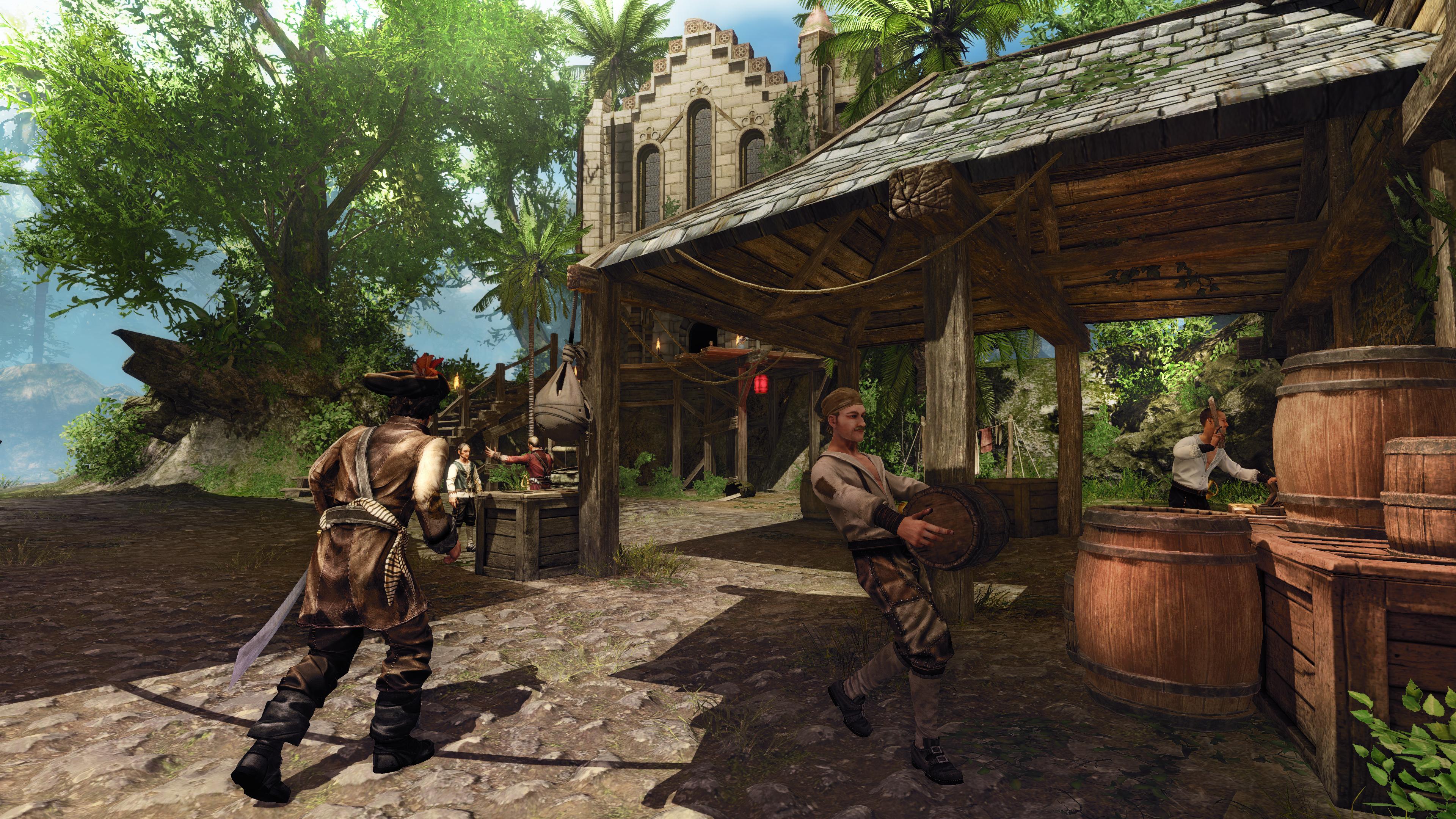 Risen 2: Dark Waters - Air Temple DLC screenshot