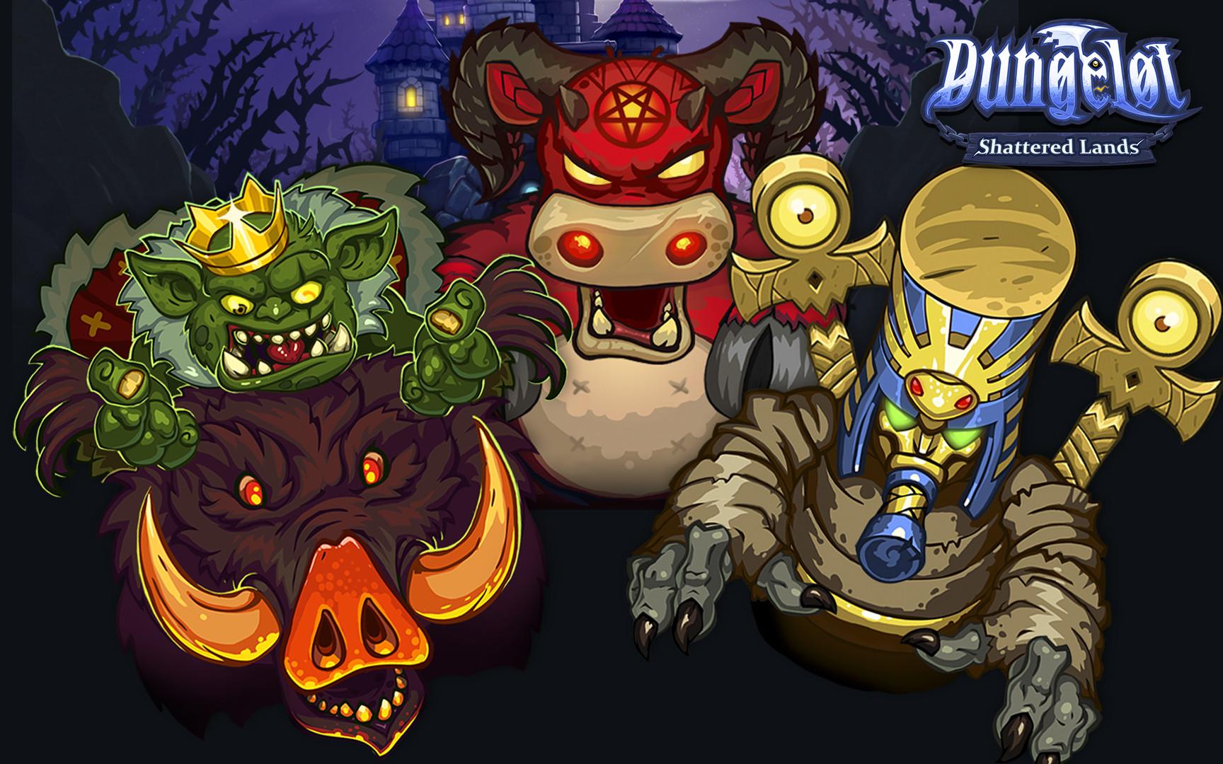 Dungelot: Shattered Lands 2016 pc game Img-4