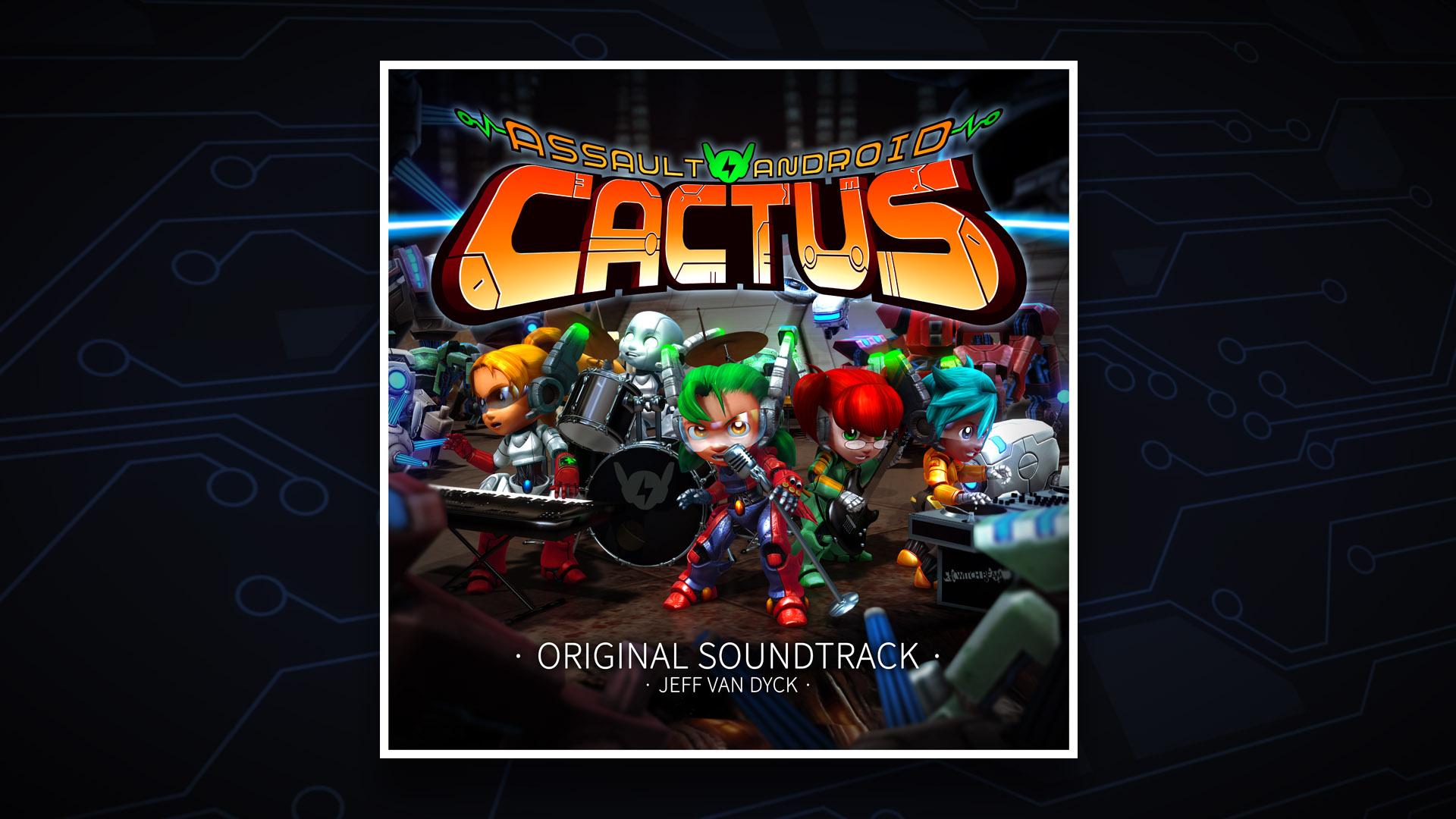 Assault Android Cactus Original Soundtrack screenshot