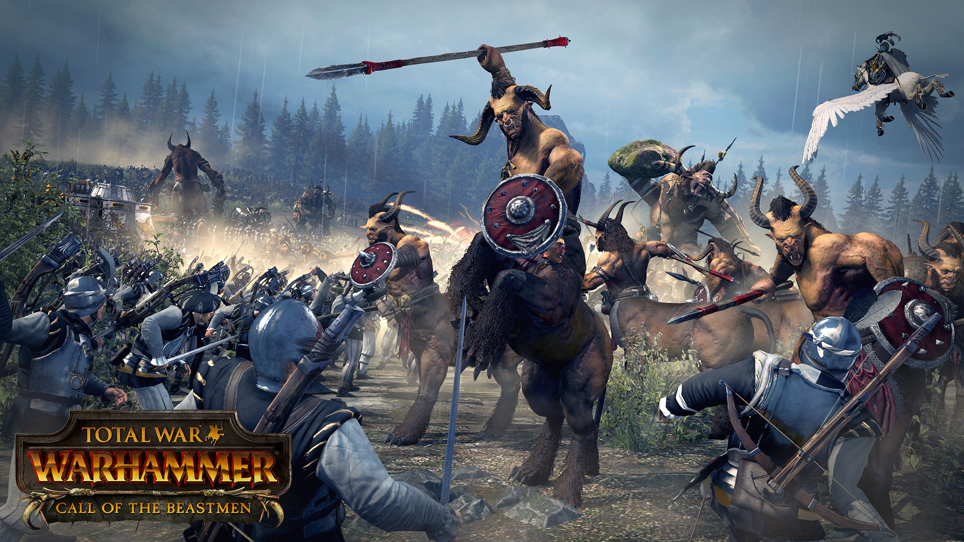 Состоялся релиз DLC «Зов зверолюдов» к Total War: WARHAMMER
