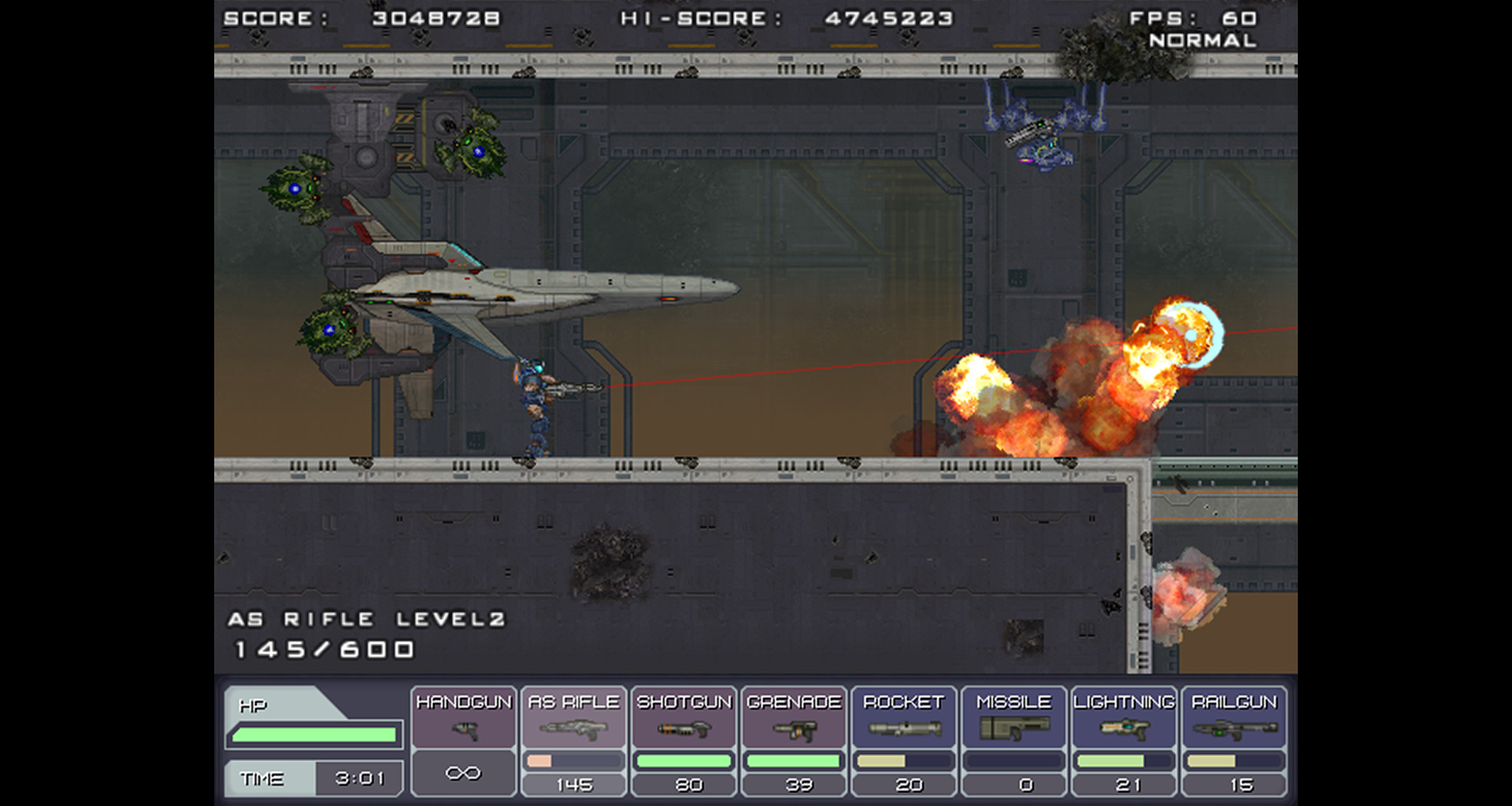 STEEL STRIDER screenshot