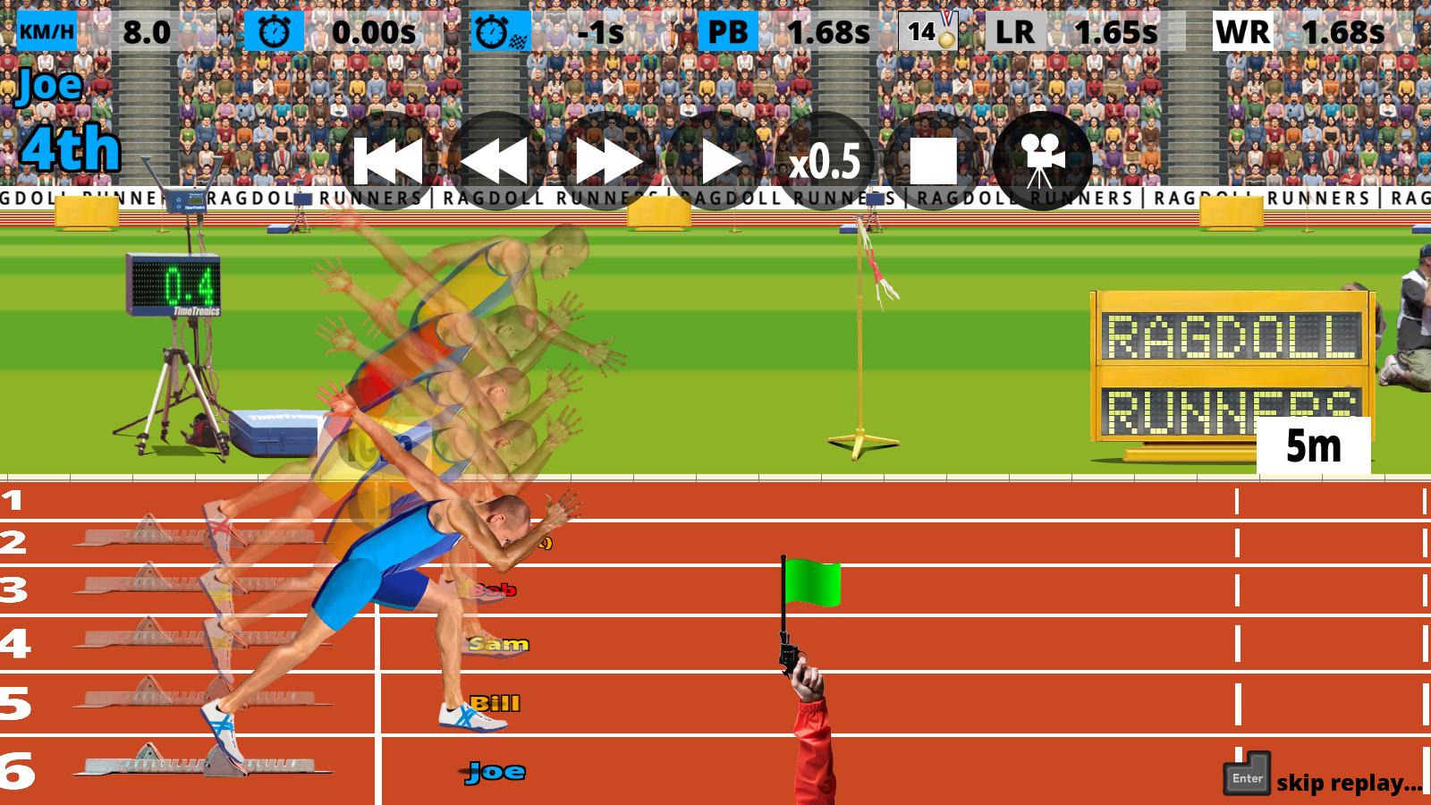 Ragdoll Runners screenshot
