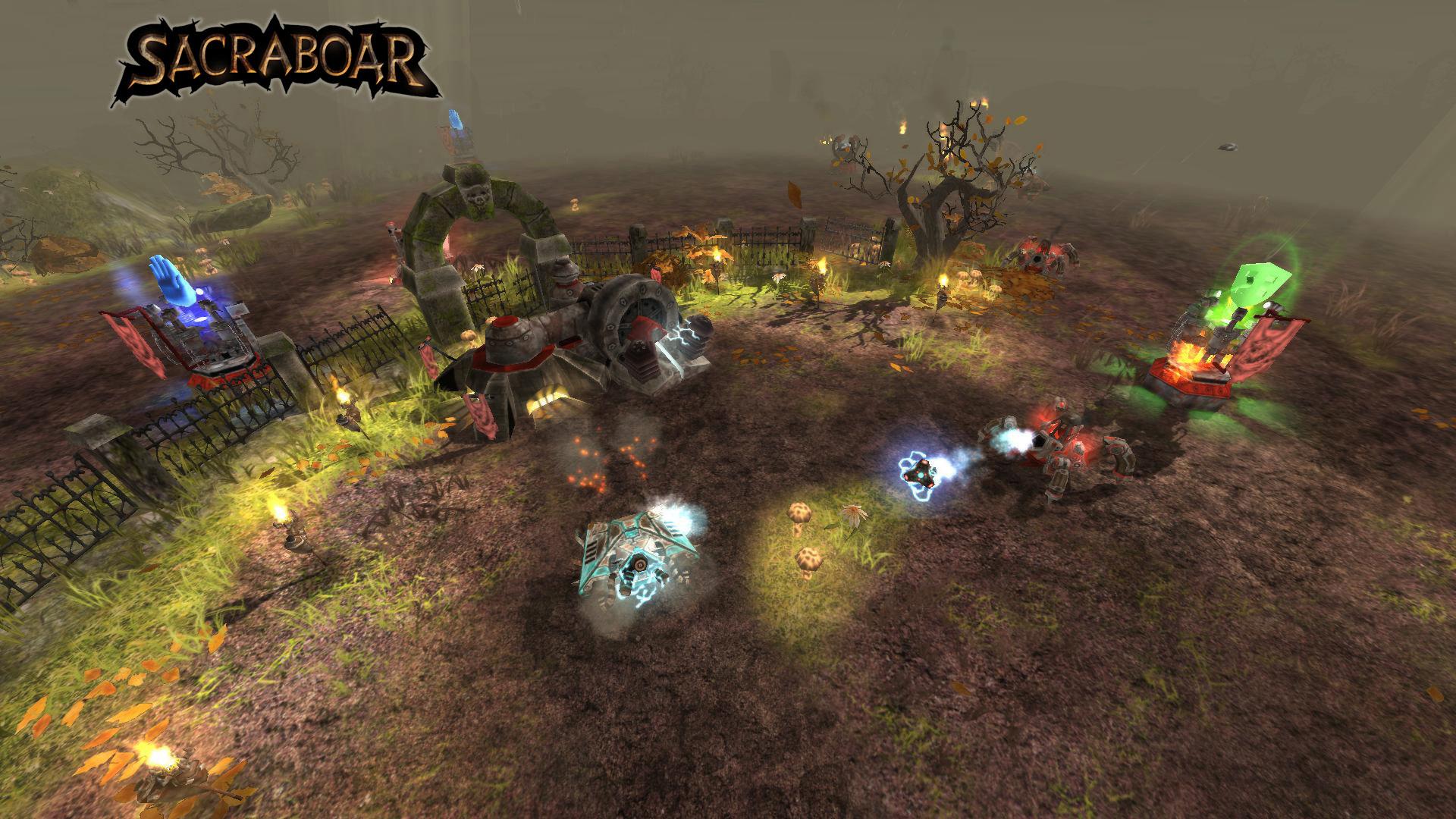 Sacraboar screenshot