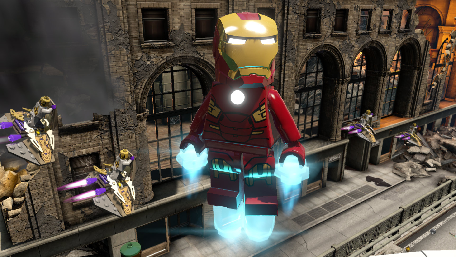 LEGO MARVEL's Avengers screenshot