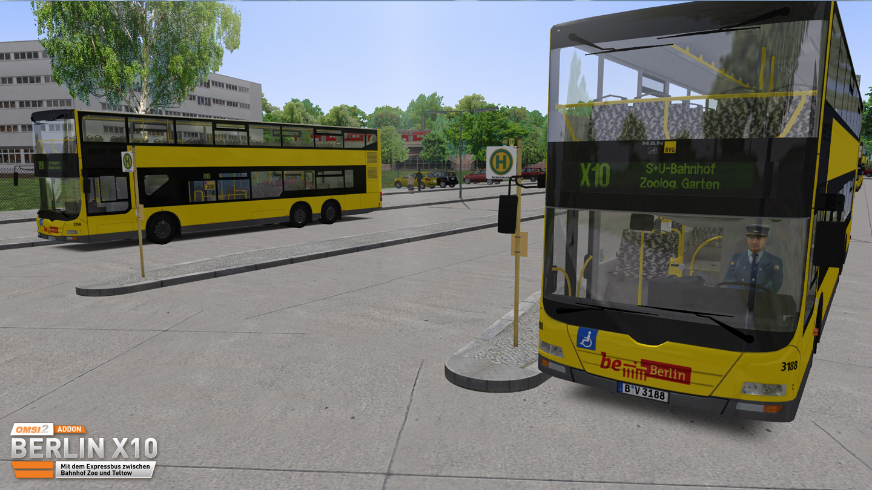 OMSI 2 Add-on Berlin X10 screenshot