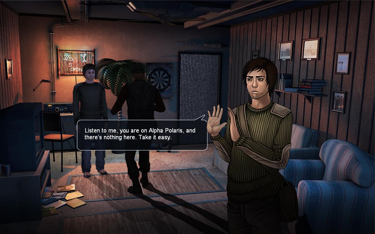 Alpha Polaris : A Horror Adventure Game screenshot