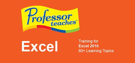 Professor Teaches Excel 2016